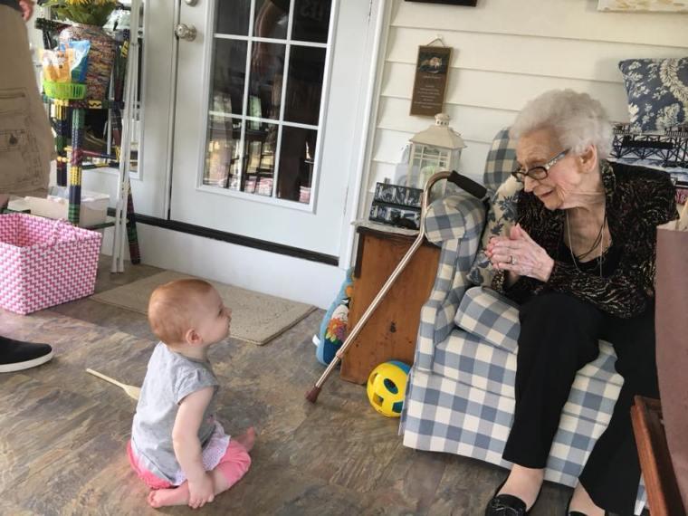 Grandma and Laurelei