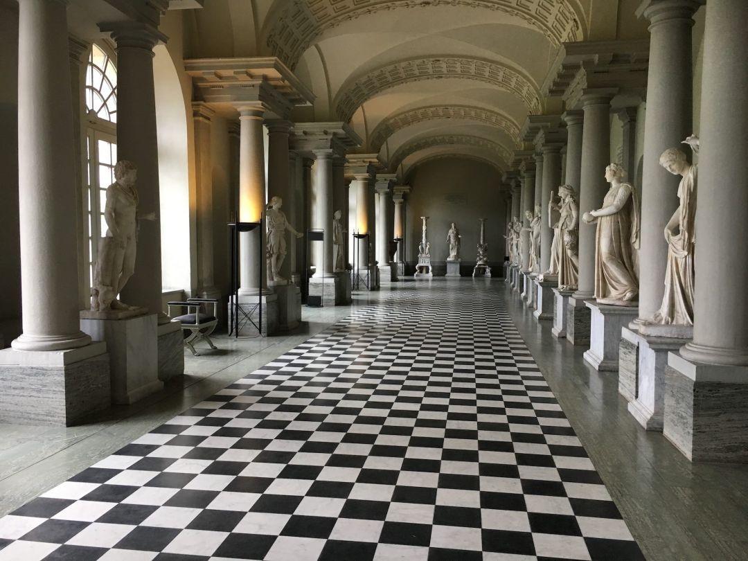 Inside Gustav III's Museum of Antiquities in Stockholm, Sweden